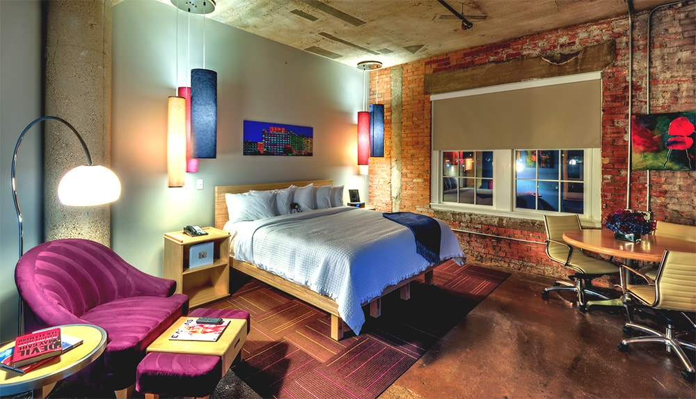 Rooms at CANVAS Dallas